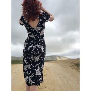 Dresses & Skirts - Hawaii Print Vintage Dress